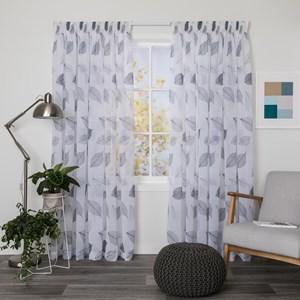 Arizona Shadow - Readymade Sheer Pencil Pleat Curtain