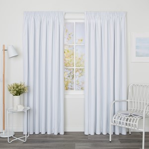 Blockout Lining Curtain White - Readymade Pencil Pleat Lining Curtain