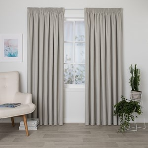 Bristol Linen - Readymade Blockout Pencil Pleat Curtain