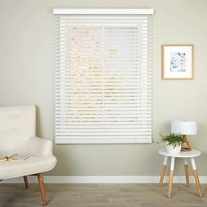 Clearance Richmond White - Readymade Ecowood Venetian Blind