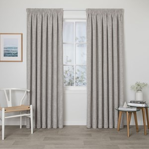 Hunter Sand - Readymade Triple-Weave Pencil Pleat Curtain