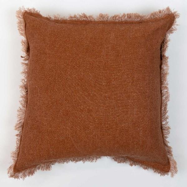 Stonewashed-Linen Rust - Cushion