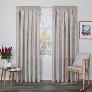 Brentwood Whisper - Readymade Lined Pencil Pleat Curtain