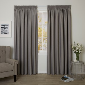 Bristol Ironstone - Readymade Blockout Pencil Pleat Curtain