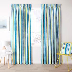 Jordan Denim - Readymade Thermal Pencil Pleat Curtain
