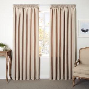 Origin Pumice - Readymade Thermal Pencil Pleat Curtain