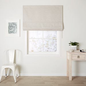 Cosmo Pumice - Readymade Roman Blind