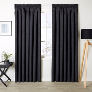 Franklin Granite - Readymade Triple-Weave Pencil Pleat Curtain