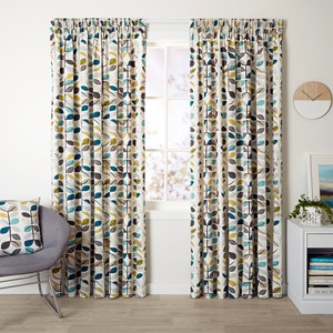 Matakana Pacific - Readymade Thermal Pencil Pleat Curtain