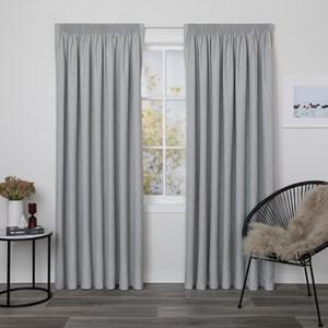 Preston Stone - Readymade Blockout Pencil Pleat Curtain