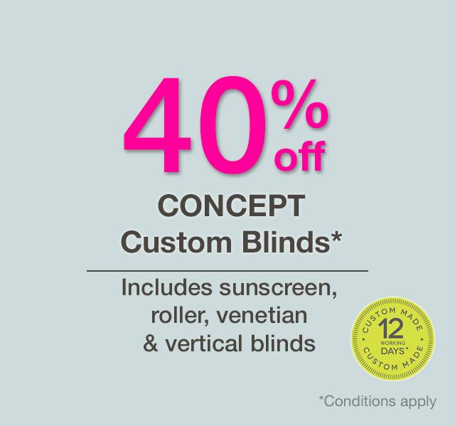Concept Custom Blinds