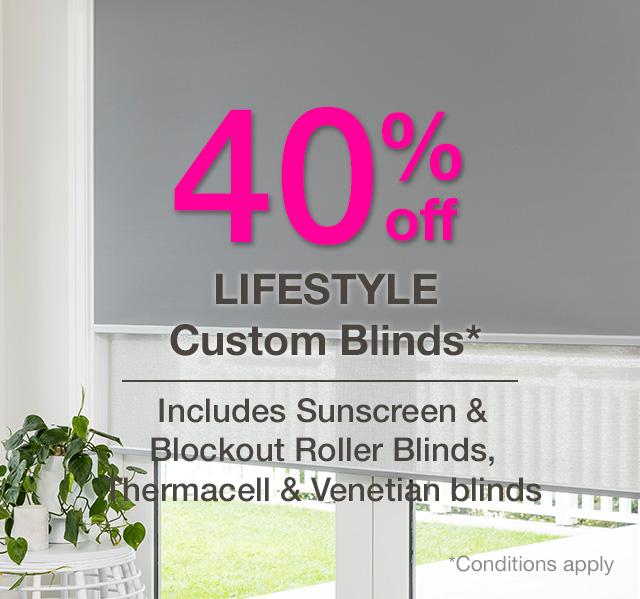 Lifestyle Custom Blinds