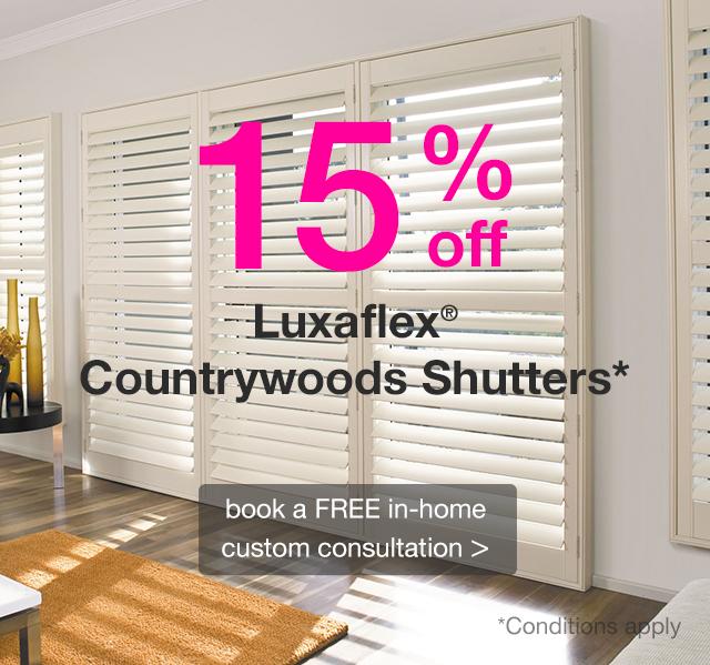 Luxaflex Custom Blinds