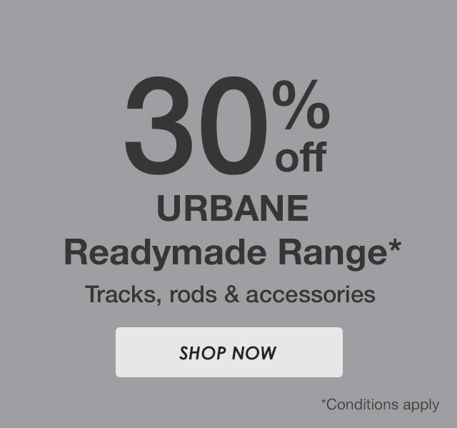 30% off Urbane Range
